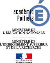 Logo officiel de l'Académie de Poitiers